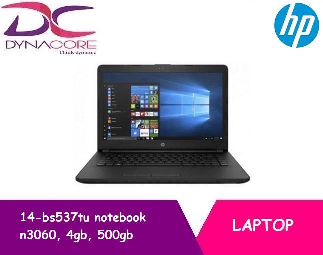 Hp 14-bs537tu notebook [n3060, 4gb, 500gb, intel, w10h]