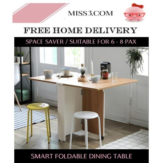 Foldable Smart Dining Table By Miss3.com.