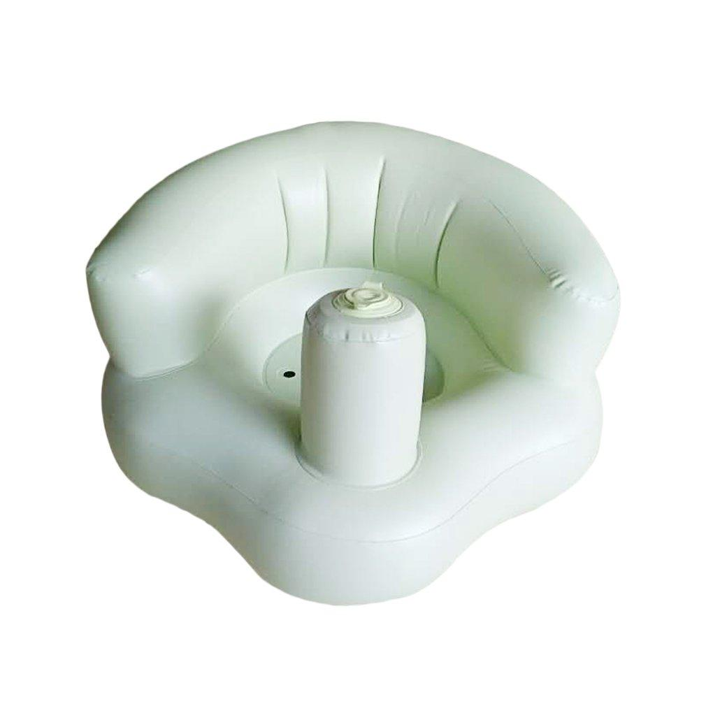 LALOVE Funny Design Inflatable Baby Kid Children Sofa Widened Thickened Sofa Chair green