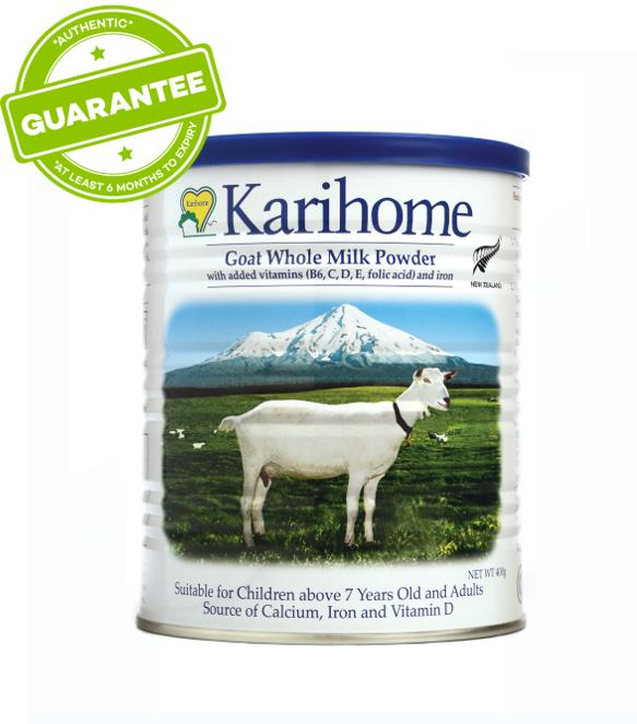 Karihome Goat Whole Milk Powder 400g By Lazada Retail Karihome Flagship Store.