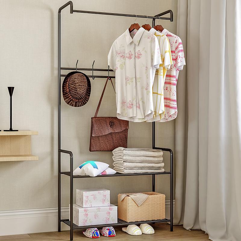 Shome nuo floor bedroom clothes rack