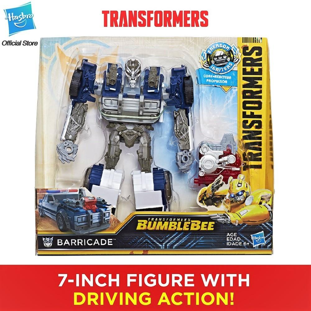 Transformers: Bumblebee Movie Energon Igniters Nitro Series Barricade Action Figure