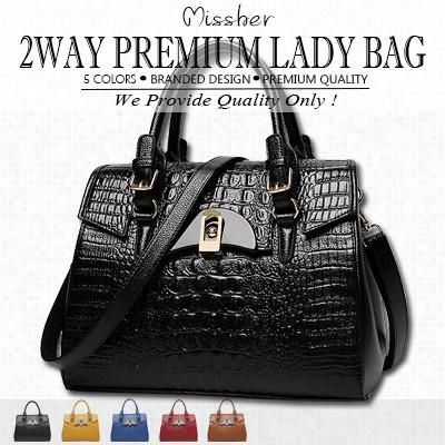 MISSHER Super Premium Quality★2 way tote bag sling bag pouch etc ShoulderBag/Handbag/Working LB-CA08N