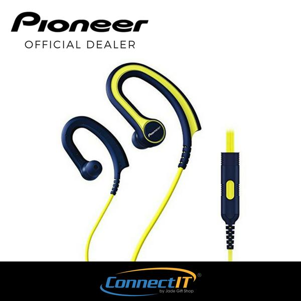 Price Pioneer Se E711T In Ear Sports Earphone For Running Yellow Local Warranty Pioneer New