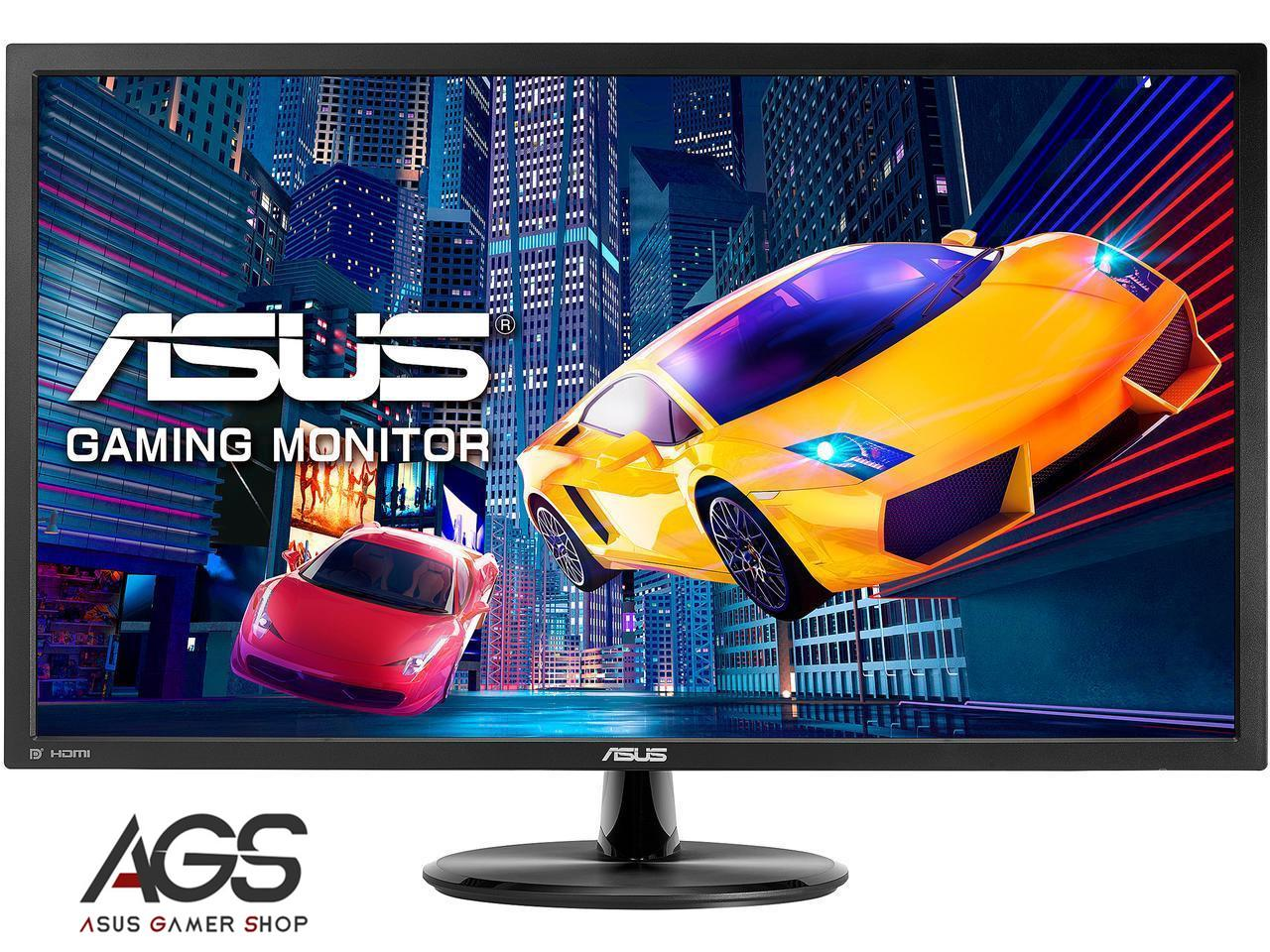 ASUS VP28UQG 28 4K/UHD 3840x2160 1ms DP HDMI Adaptive Sync/FreeSync Eye Care Monitor