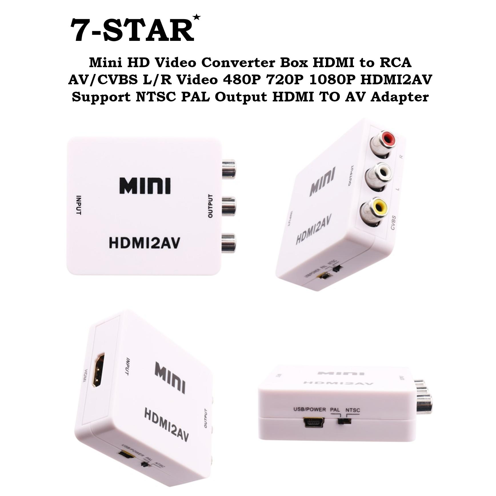 Buy Sell Cheapest 360dsc Rca Av Best Quality Product Deals Converter Hdmi To Support Full Hd 1080p Mini Video Box Cvbs L R 480p