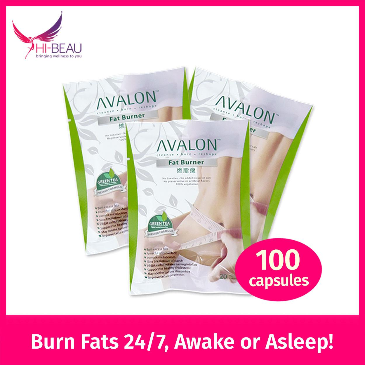 Price Compare Avalon Fat Burner 100 Capsules
