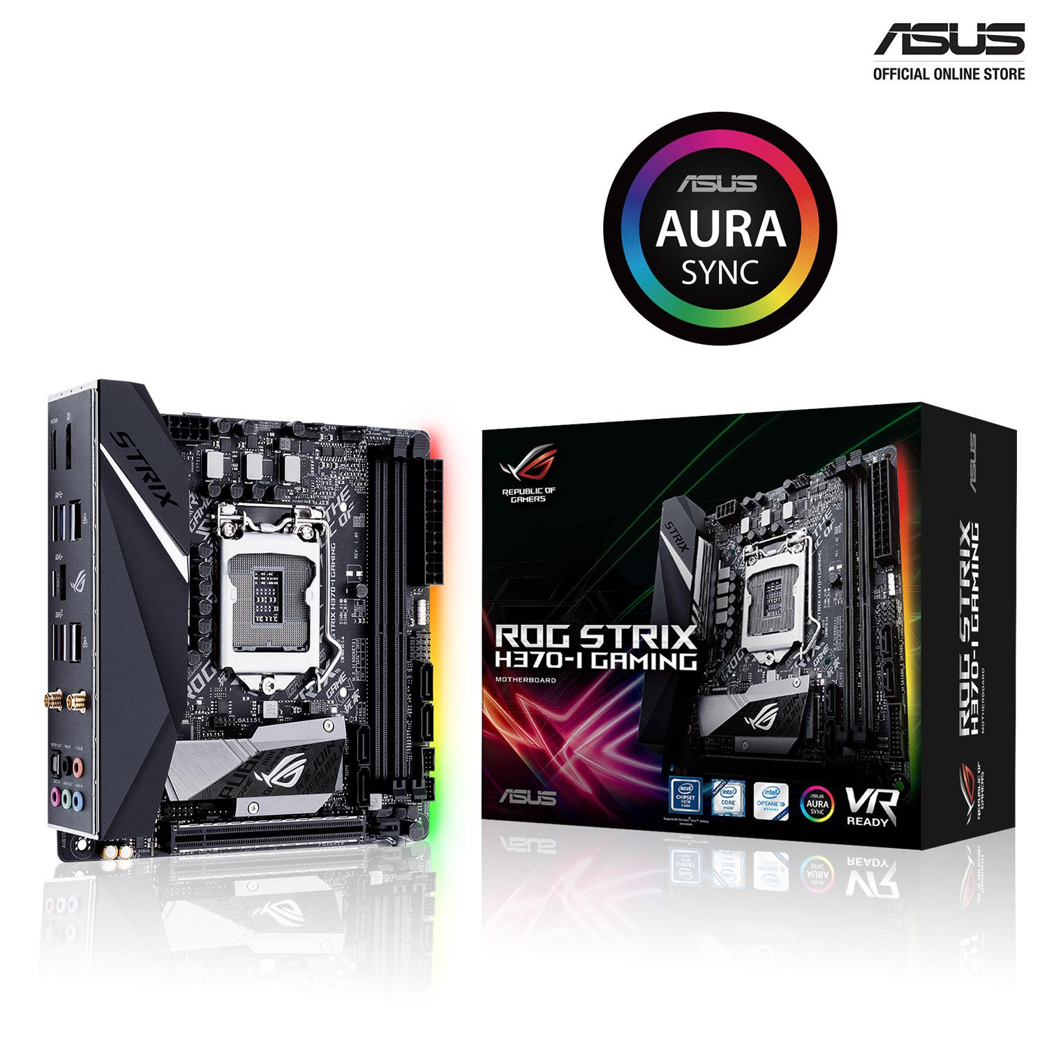 Latest Asus Motherboards Products Enjoy Huge Discounts Lazada Sg Motherboard H170 Pro Usb 31 Socket 1151 Lga Chipset Intel Rog Strix H370 I Gaming Mini Itx With Aura