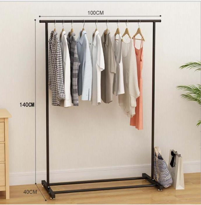 Basic Home Clothes Line & Garment Racks 140cm in Height 100cm in Length Stable High Quality Tshirt Stand Dress Display Convenient To Minimize Space Usage