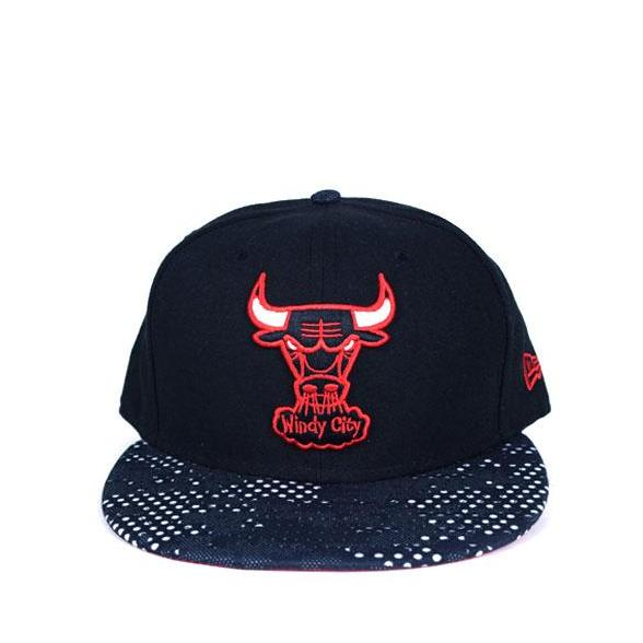 7de0c664243be New Era Chicago bulls 59FIFTY Black Red White Fitted cap 63655 BB1