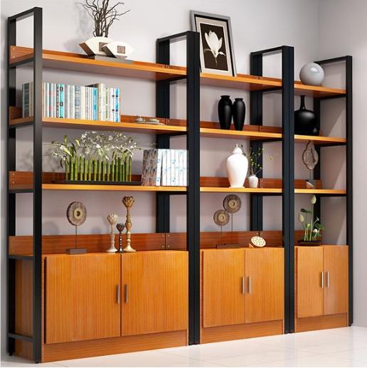 JIJI HENNON Bookcase Rack (Free Installation) - Shelving / Organizer / Display / Storage / Cabinet / Quality Material (SG)