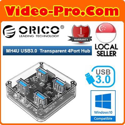 Orico MH4U 4 Ports USB3.0 Transparent Desktop HUB