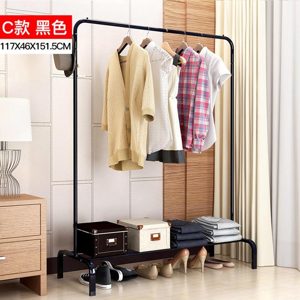 Premiere New Standing Clothes Rack Design C ( LRCR 09 ) (Closet Organiser)