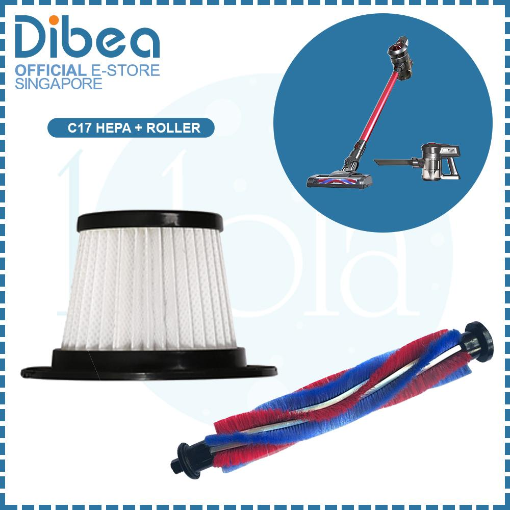 Latest Dibea C17 Hepa Filter Fluffy Brush