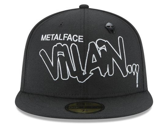 a49062a7 New Era Metal Face Villian 59FIFTY Fitted Cap 71207 B4