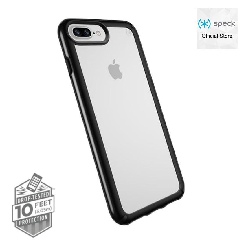 Buy Speck Presidio Show Case For Iphone 8 Plus Clear Black Speck Online