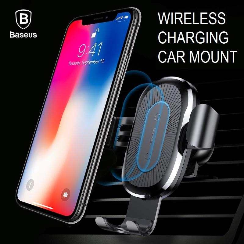 How Do I Get Baseus Gravity Wireless Charging Car Mount Phone Holder