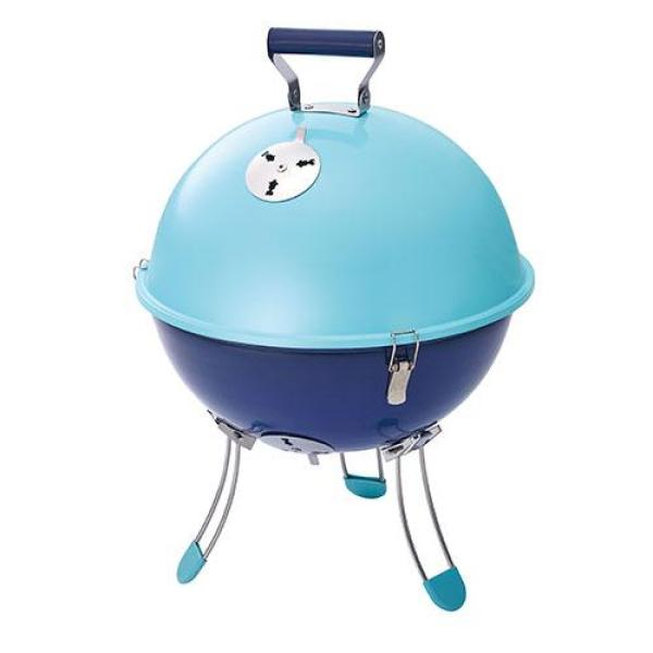 COLEMAN GRILL Party Ball Charcoal Cooking (Sky Blue)