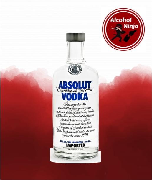 Absolut Vodka 750 Ml By Alcohol Ninja.