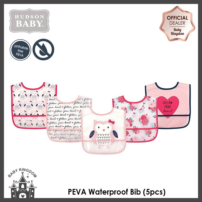 Get Cheap Hudson Baby Peva Waterproof Bib 5Pcs