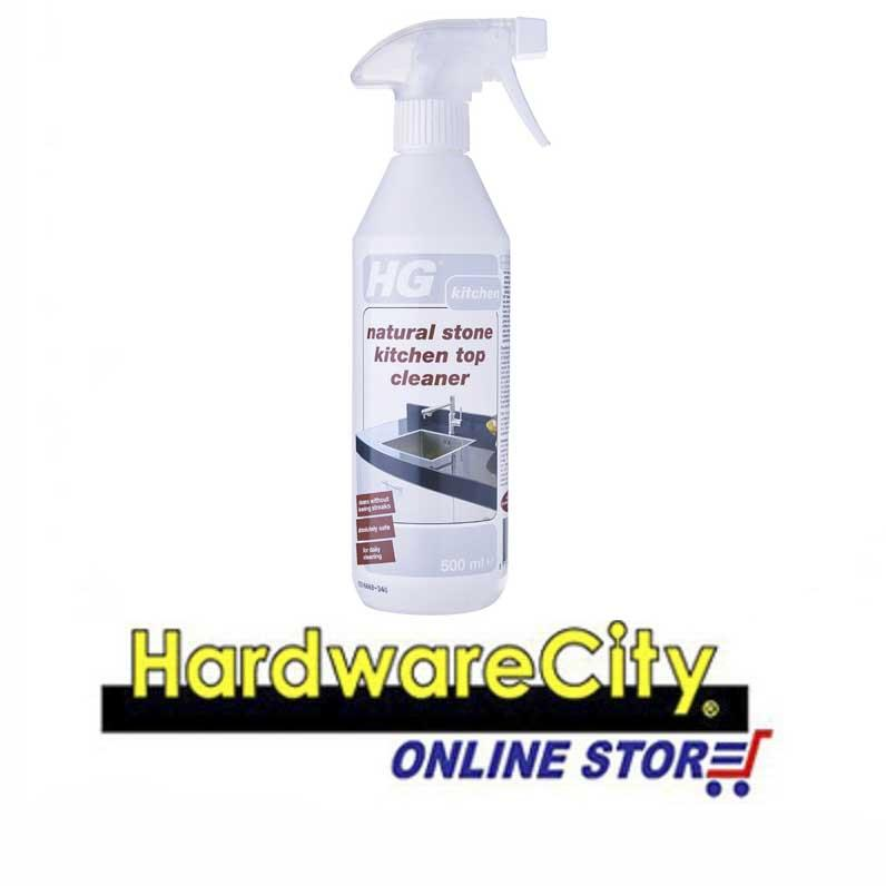 Hg Natural Stone & Kitchen Top Cleaner 500ml [hg340] By Hardwarecity Online Store.