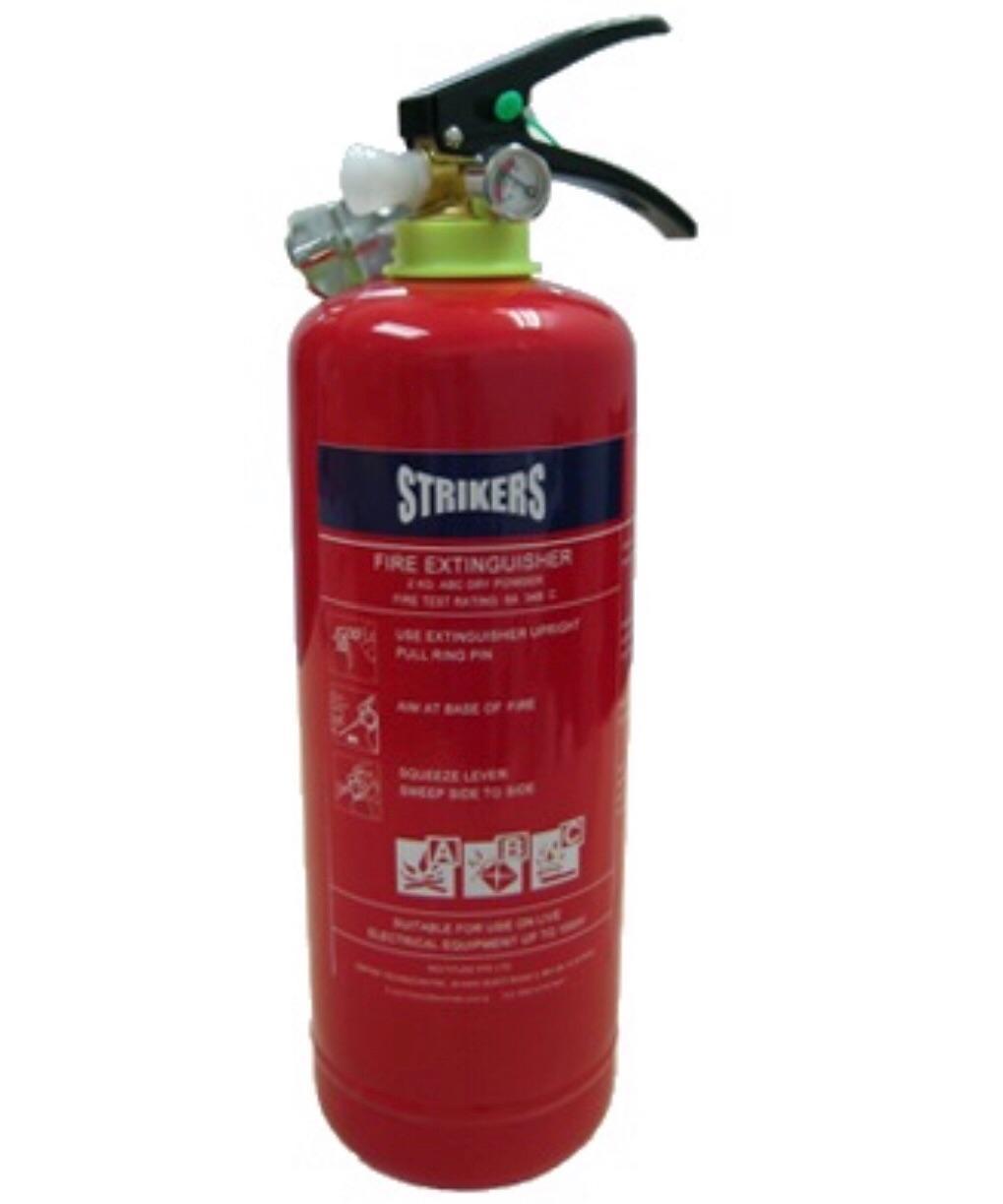 STRIKERS Fire Extinguisher 2KG