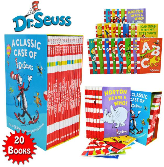 A Classic Case of Dr Seuss - 20 Books Box Set