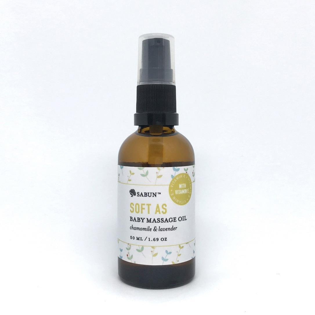 Soft As Baby Massage Oil By Sabun.