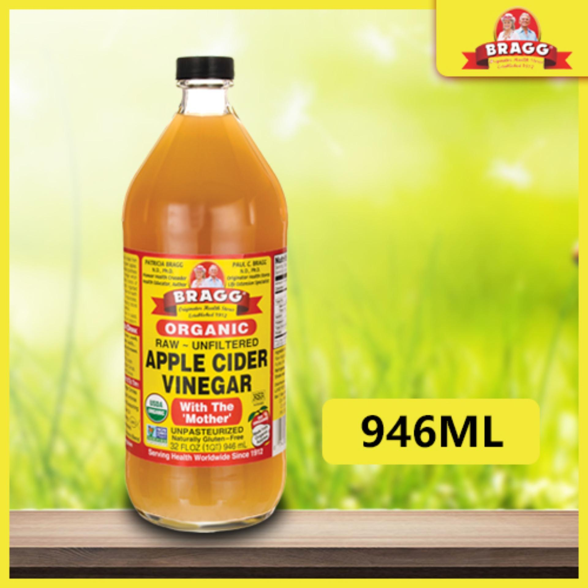 Bragg Organic Apple Cider Vinegar 946ml Singapore Shipping Product Of Usa Detox Organic Healthy Diet Wellness