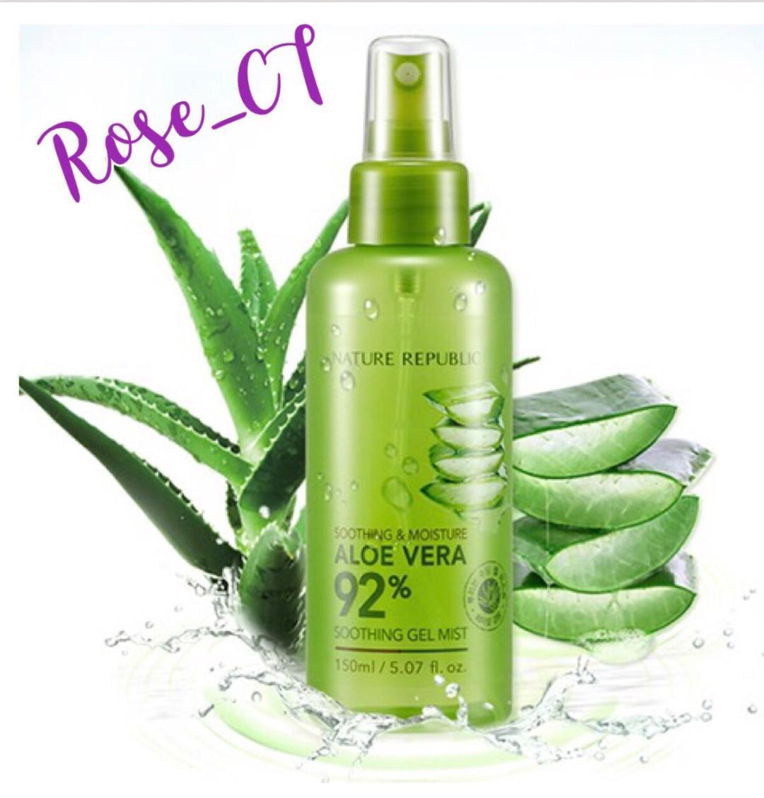 Buy Nature Republic Skin Care Online Lazada Aloe Vera 92 Soothing Moisture Gel Mist 150ml