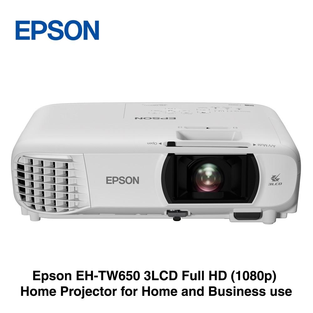 4bb560710ea *FREE $10 NTUC VOUCHERS* Epson EH-TW650 3LCD Full HD (1080p)