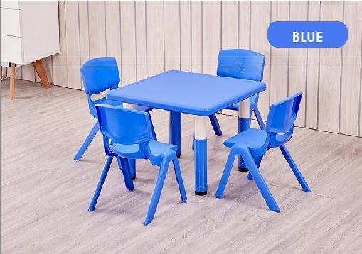 Basic Children Table /Kids Table/ children table/ dining table/ study table/ single color / Free Installation / (SG)