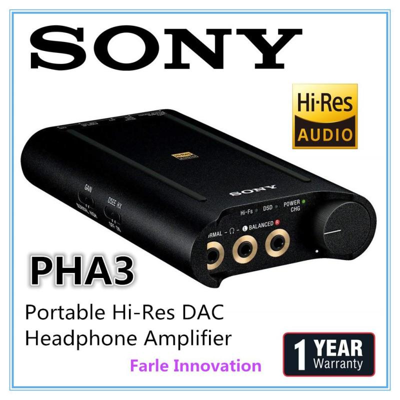 Sony PHA3 Portable Hi-Res DAC/Headphone Amplifier Singapore