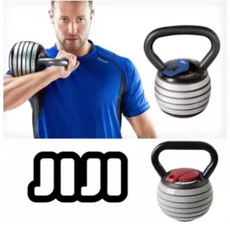 Jiji Adjustable Kettlebell Weights- 20lbs/ 40lbs/ Mma/ Conditioning/ Cardio/ Mix Martial Art (sg) By Jiji Sports.