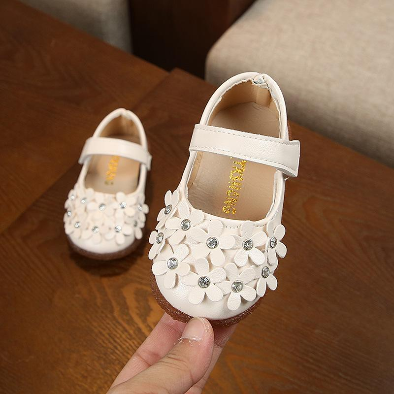 2018 Spring And Autumn Baby Shoes Girl s Shoes Baby s Shoes Toddler Shoes  Princess Shoes Leather Shoes 777c05a3f1f3