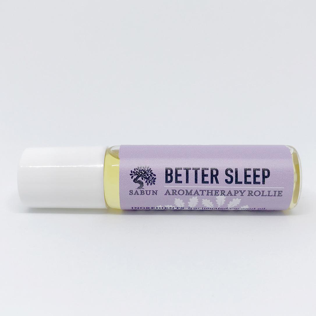 Better Sleep Aromatherapy Rollie By Sabun.