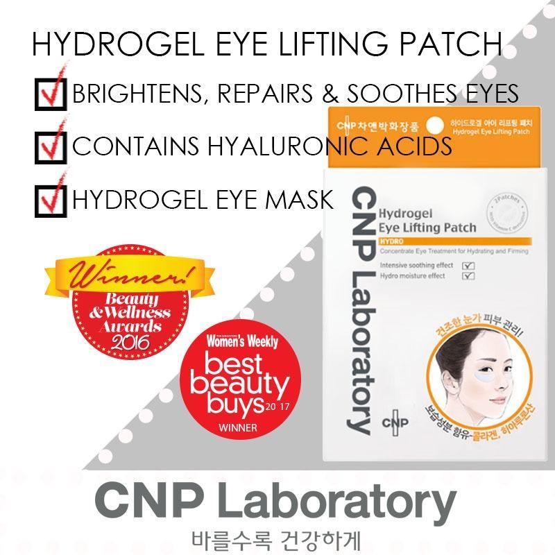 Price Cnp Laboratory Hydrogel Eye Lifting Patch 4Pcs Cnp Laboratory Singapore