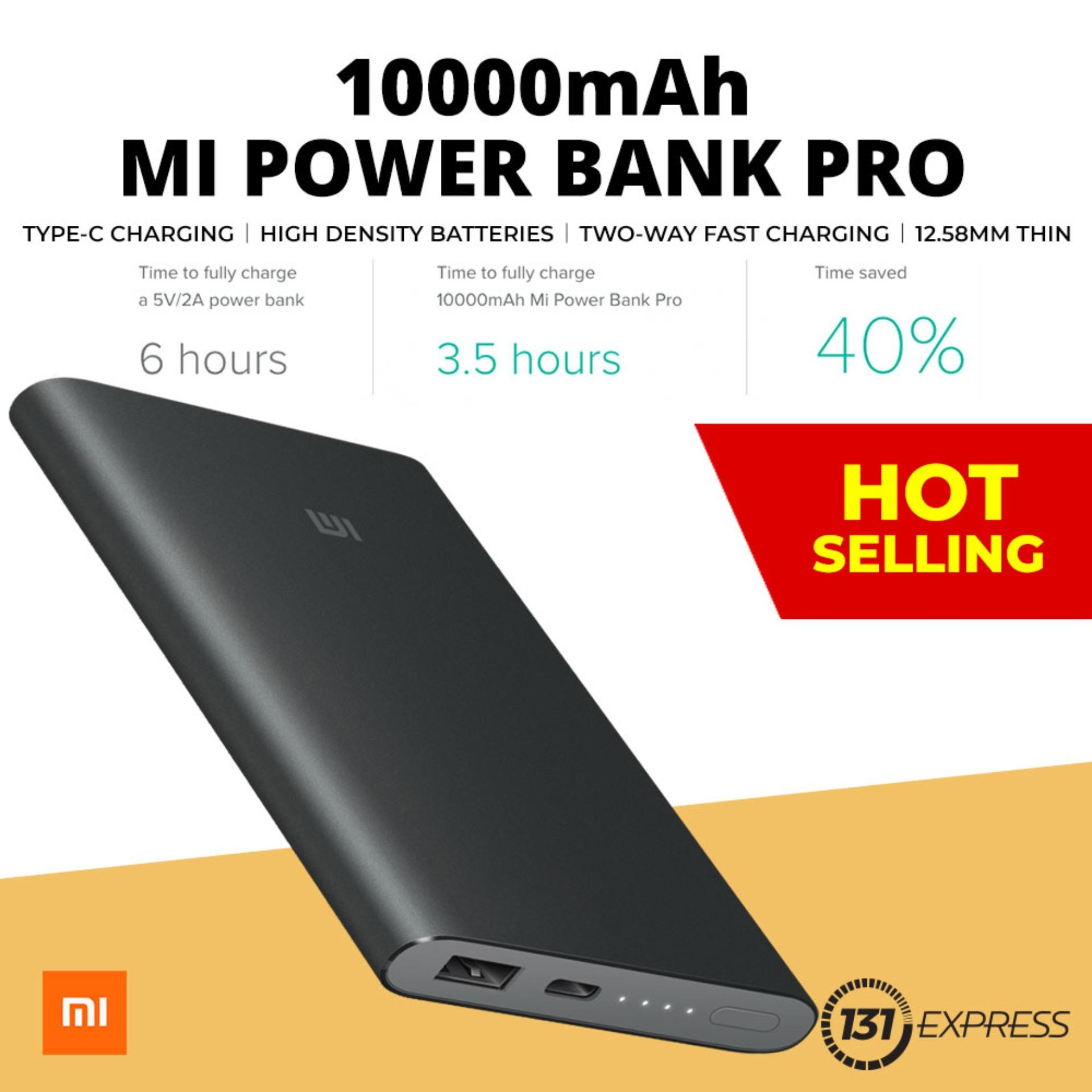 Review Xiaomi 10 000Mah Pro Type C Powerbank Xiaomi On Singapore
