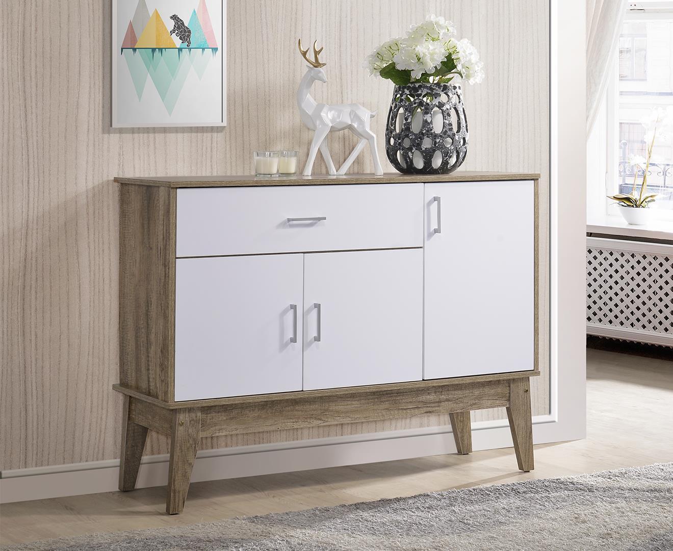 Scandinavian Large Shoe Cabinet(Free Installation + Delivery) Rack Storage Entryway Drawer Shelf⭐ E-LIVING Furniture
