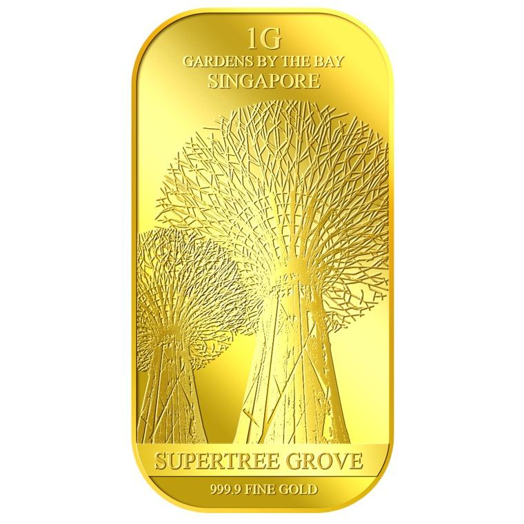 Cheap Puregold 1G Supertree Grove Gold Bar 999 9 Online