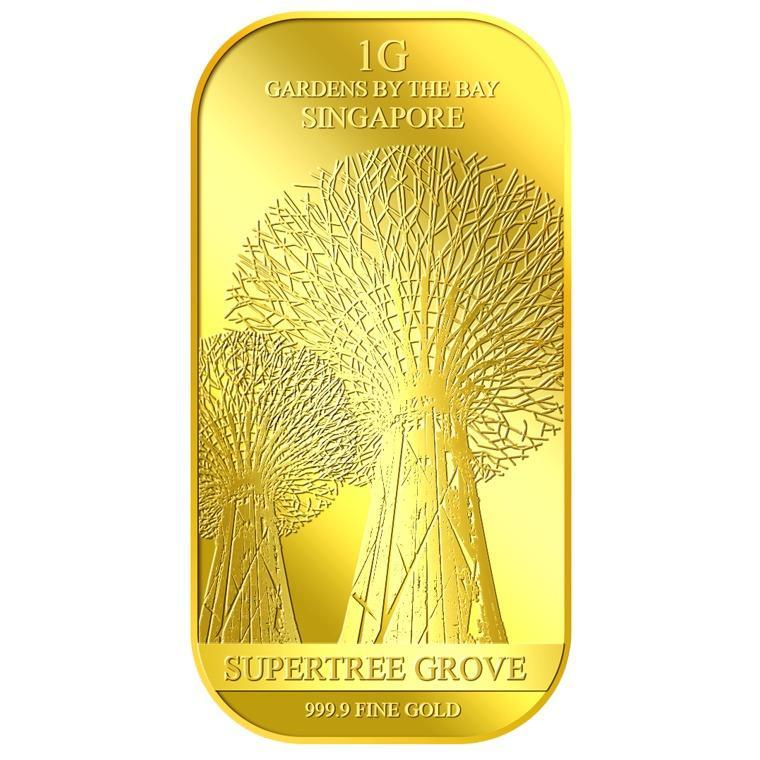 Discount Puregold 1G Supertree Grove Gold Bar 999 9 Puregold On Singapore