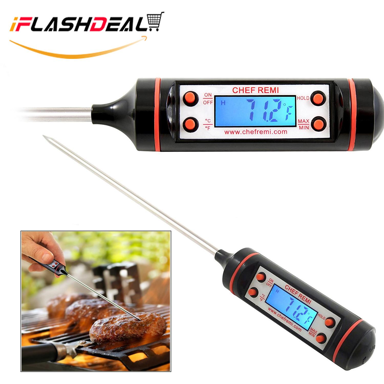 Iflashdeal Digital Food Meat Thermometer Kitchen Food Probe For Cooking Bbq By Iflashdeal.