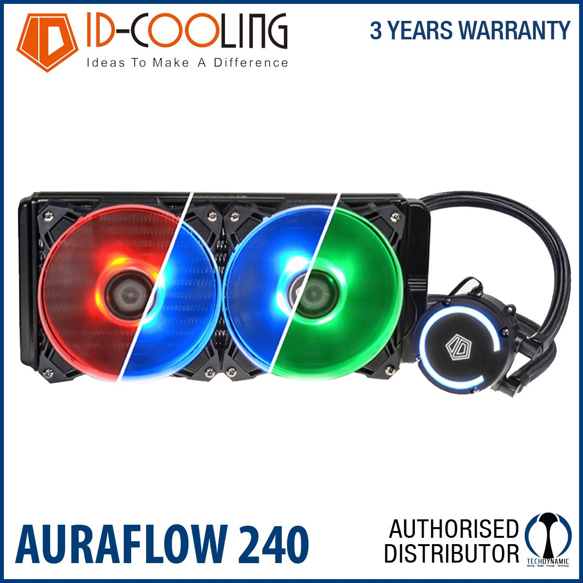 Discount Id Cooling Auraflow 240 Rgb Sync With Motherboard Id Cooling