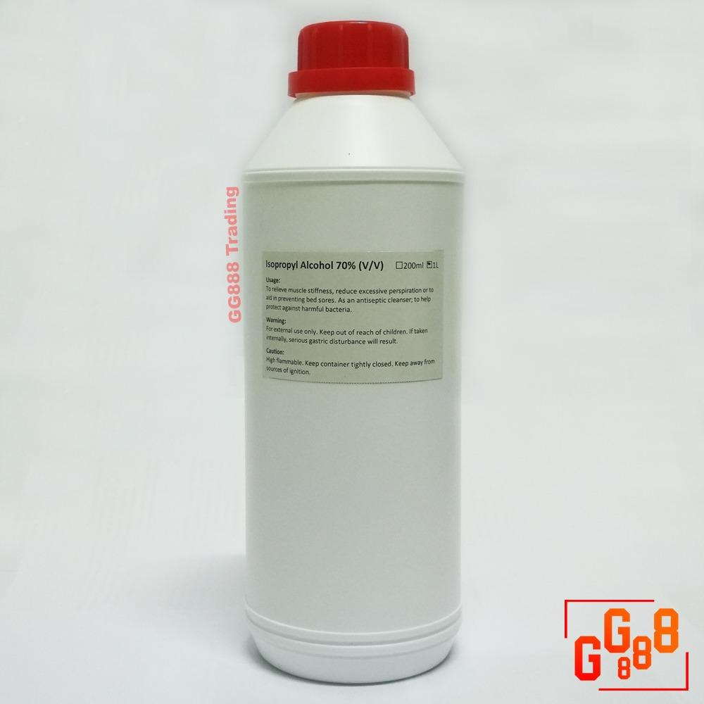 Isopropyl Alcohol (ipa) 70% (v/v) / Rubbing Alcohol 1l By Gg888.