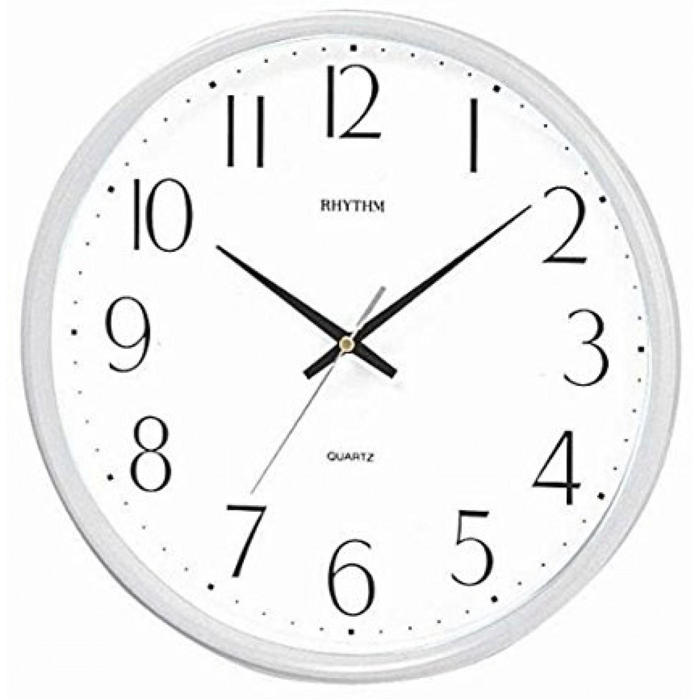 Rhythm Quartz Analog Wall Clock CMG817NR03