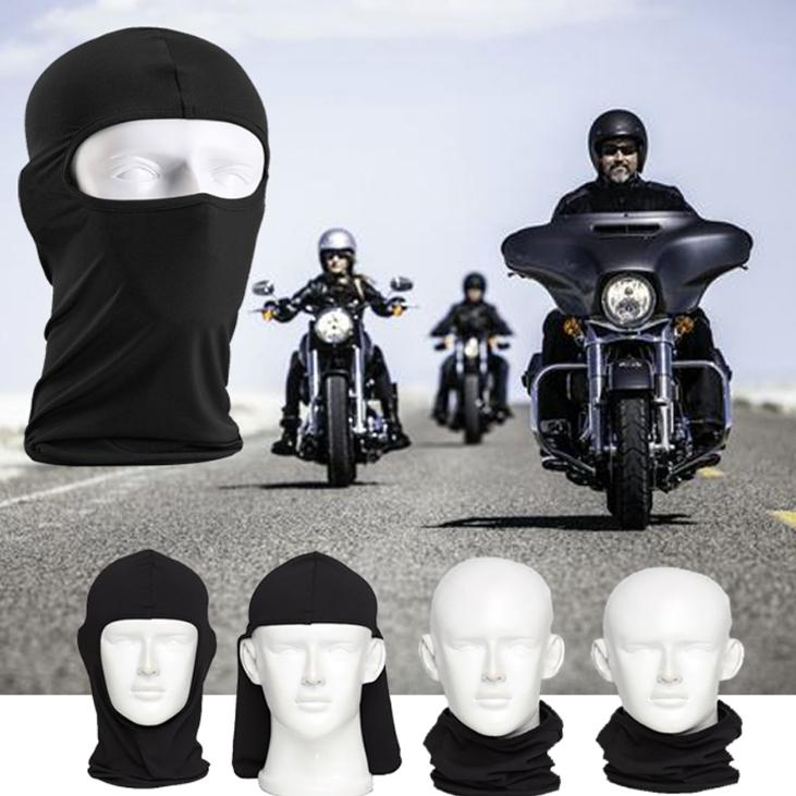 Best Full Face Mask, Premium Ski Mask And Neck Warmer For Motorcycle And Cycling, Black Full Cover Face Protection From Dirt And Dust Dusty Portable Close Vehicles Health And Beauty By The2ndplatform.