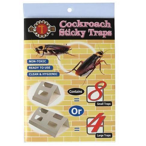 Golden Hammer Cockroach Sticky Trap