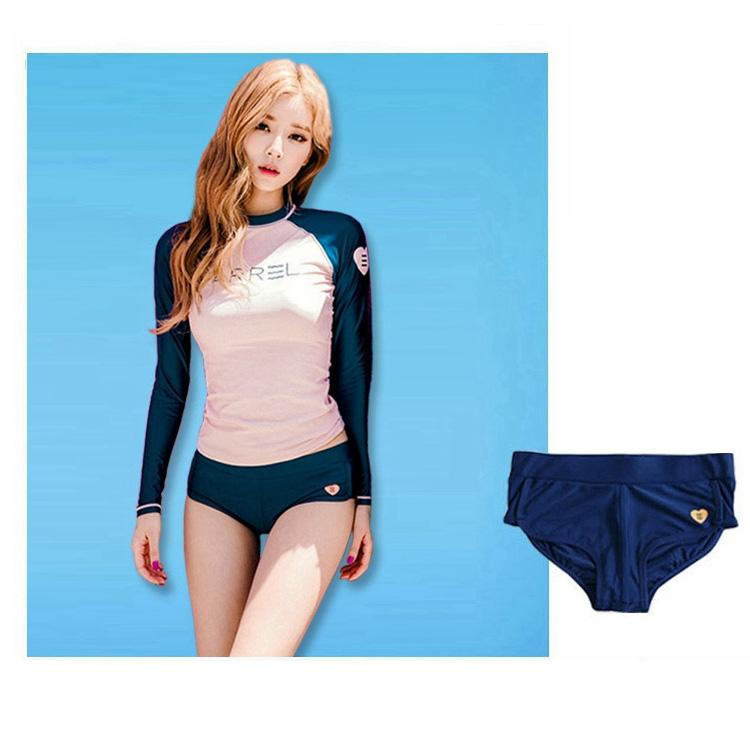 South Korea Wetsuit Female Split Type Briefs Swimming Trunks Tight Quick-Drying Beach Bikini Sexy Shorts Anti-Exposure By Taobao Collection.