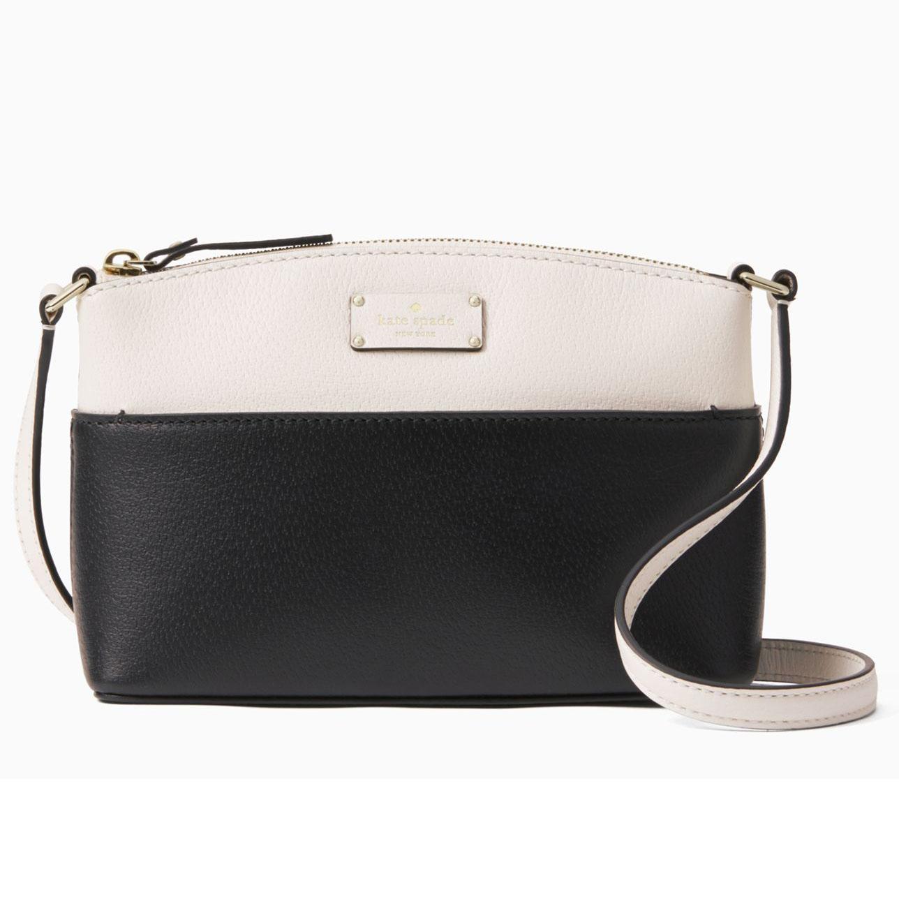 Compare Kate Spade Grove Street Millie Crossbody Bag Handbag Black Cream Wkru4194 Gift Receipt Prices