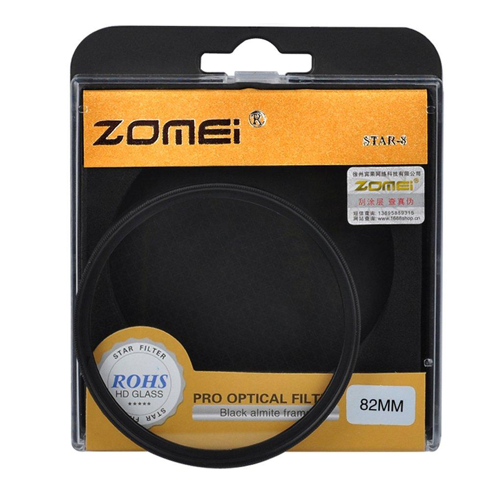 Price 8 Line Zomei Star Filter Perfect Points Optical Glass Lens Filter Accessories 82Mm Black Electron3C China